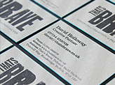 That's Brave Design Agency Business Card