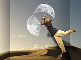 When the Moon Brakes Down