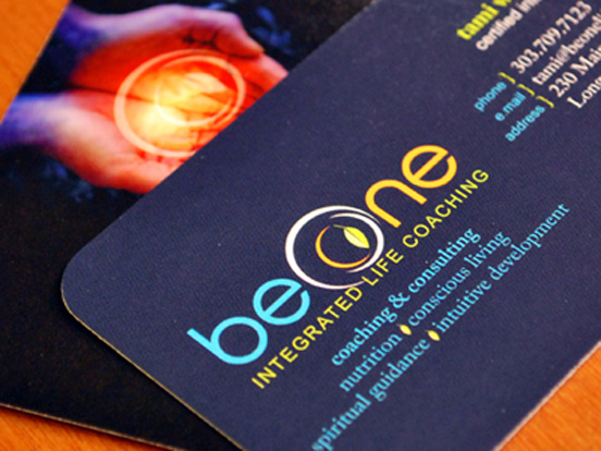 Be One Business Cards