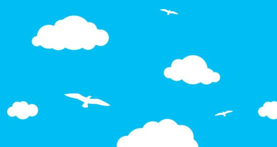 Clouds Birds