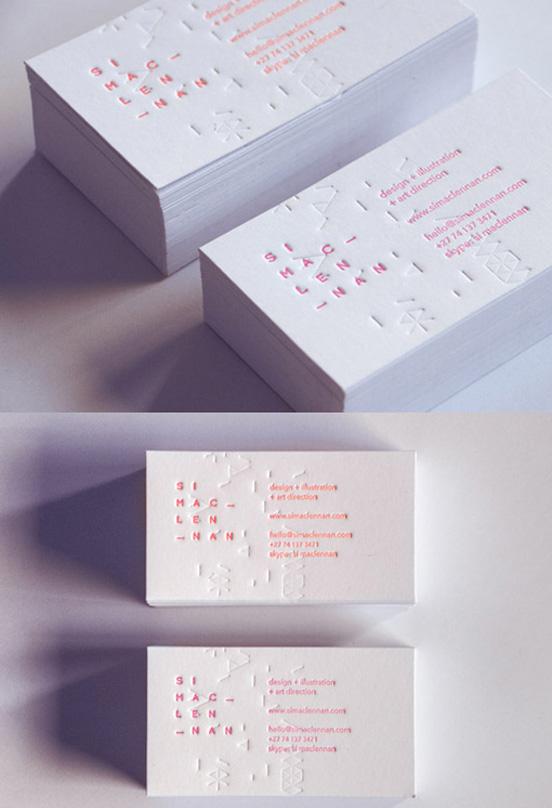 Corporate Identity Letterpress