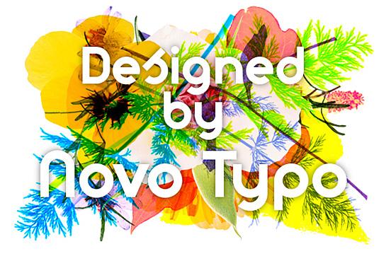 Designed by Novo Type