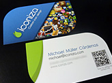 Icon Design Business Card