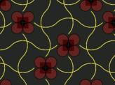 Intertwined Dot Flowers