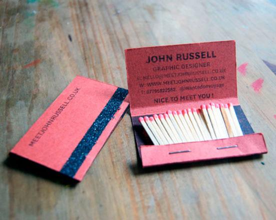 John Russell Business Card