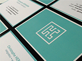 Christophe Hermann Business Cards