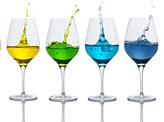 Colored Splash