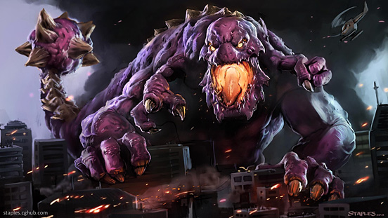 CreatureForge Battle Monster