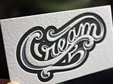 Personal Letterpress Business Cards