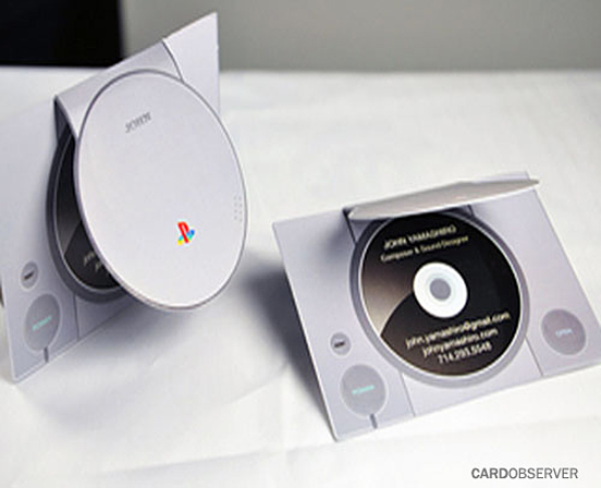 Playstation Business Card