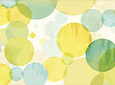 Watercolor Abstract Circles