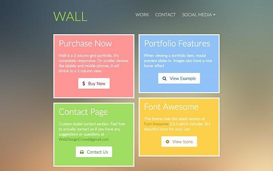 Wall portfolio