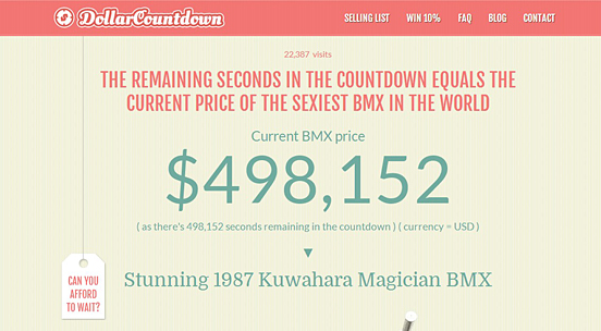 Dollar Countdown