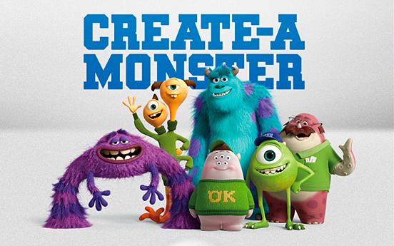 MU Create a Monster App