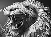 Receipts Paper Lion