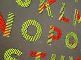 A Stitch in Time Alphabet