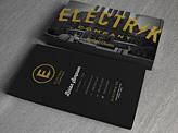 Electrik Company Business Cards