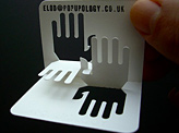 Hands Business Cards