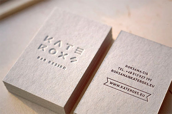 Kateroxs Business Card