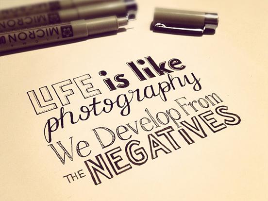 Life is Like Phototgiaphy