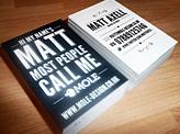 Matt Axell Business Cards
