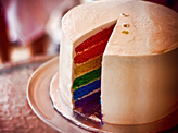Rainbow Cake Surprise