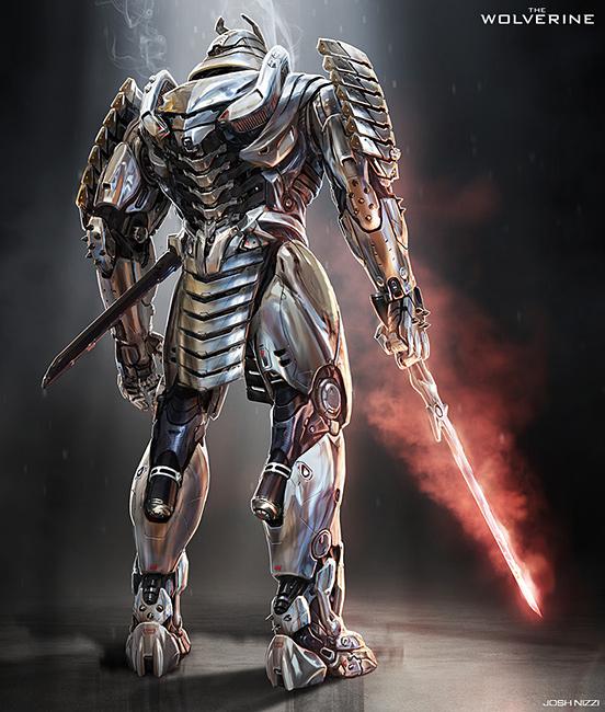 Silver Samurai Back