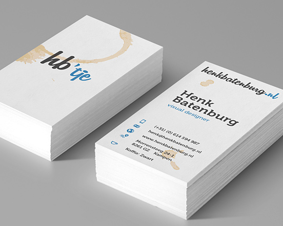 Hb'tje Business cards