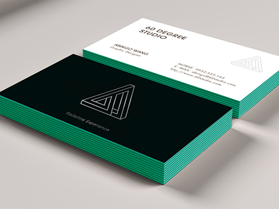 60 DEGREE STUDIO Business Cards