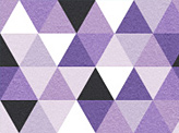 Abstract Purple Triangle