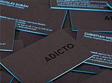 Adicto Business Card Design