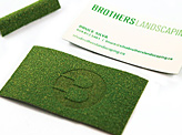 Brothers Landscaping Business Card