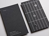Guitar Business Cards