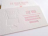 The Proper Pinwheel Business Card