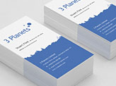 3 Planets Business Card