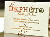 A Wedding Photographer Business Card