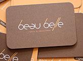 Beau Belle Business Cards