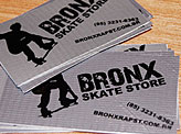 Bronx Skate Store Business Cards