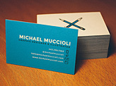 Michael Muccioli Business Cards