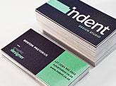 Indent Design Studio Business Cards