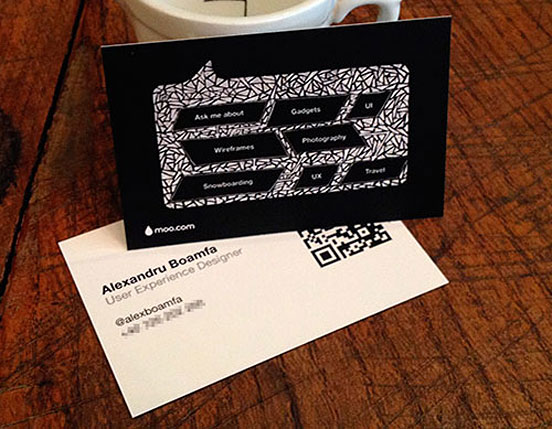 Alex Boamfa Business Card