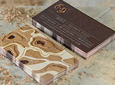 Amazing Laser Etched Business Card