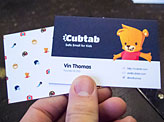 Cubtab Business Card