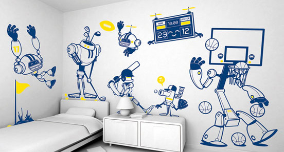 25 Diy Wall Painting Ideas For Your Home The Design Inspiration