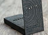 Inspirational Laser Etched Business Card