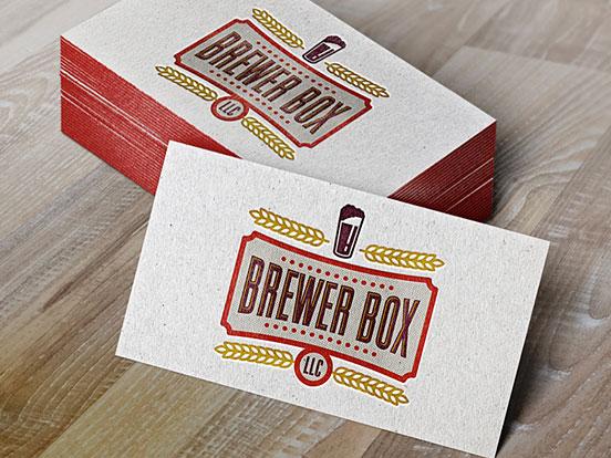 Brewer Box Card