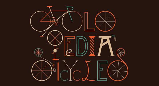 Cyclopedia Bicycles Poster