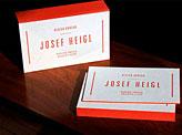 Josef Heigl Business Card