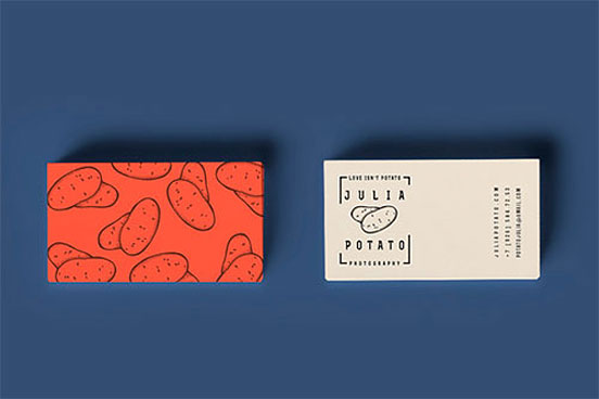 Julia Potato Business Card