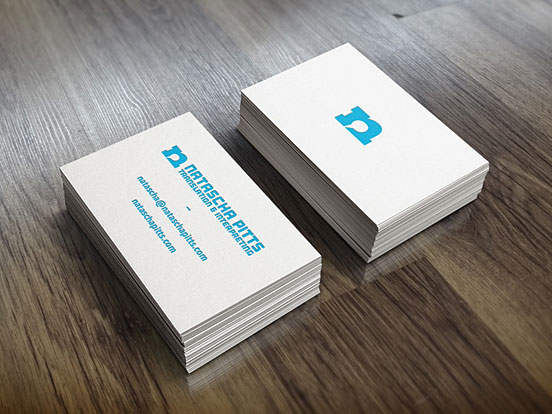 Natascha Business Card